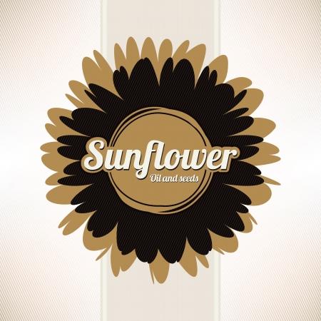Designlabels zonnebloemolie, of enig ander product uit zonnebloem