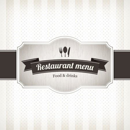 Restaurant menu design Stock Vector - 14411463