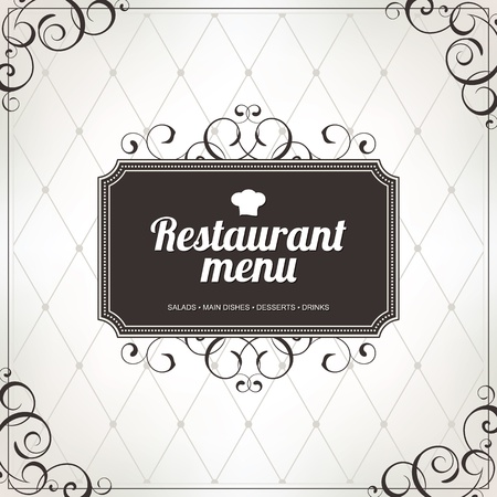 Restaurant menu design Stock Vector - 14411441
