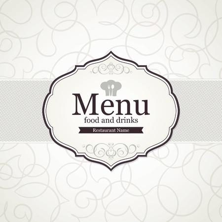 Restaurant menu design Stock Vector - 14411478
