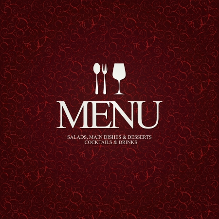 La conception du menu des restaurants Vecteurs