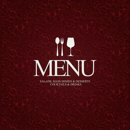 restaurant icons: Restaurant menu design