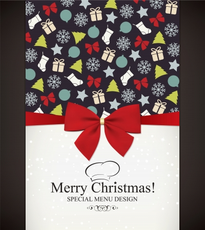 Special Christmas menu design Stock Vector - 14957857