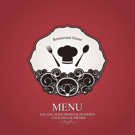 Restaurant menu design Stock Vector - 14957853