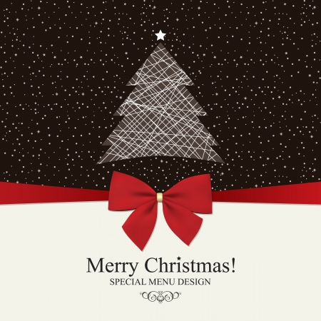 Special Christmas menu design Stock Vector - 14957850