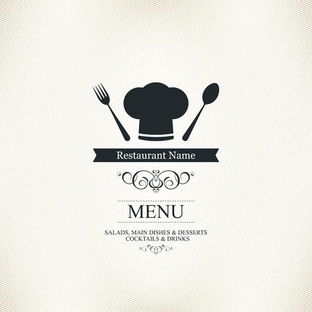 menu de postres: Dise�o del men� del restaurante