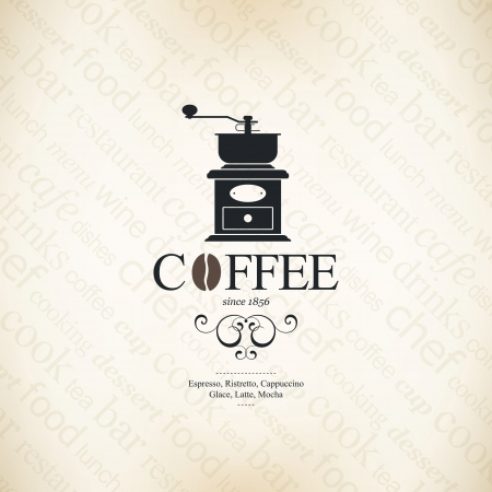 macinino caffè: Menu per il ristorante, caffetteria, bar, caff�