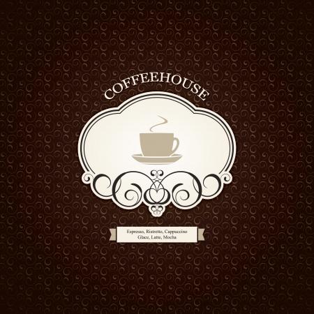 Menú para el restaurante, cafetería, bar, cafetería