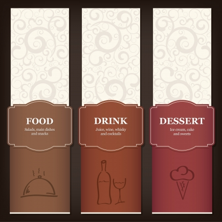 menu background: Menu for restaurant, cafe, bar, coffeehouse