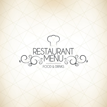 Restaurant menu design Stock Vector - 16034522