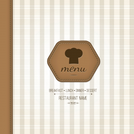 Restaurant menu design Stock Vector - 16424697