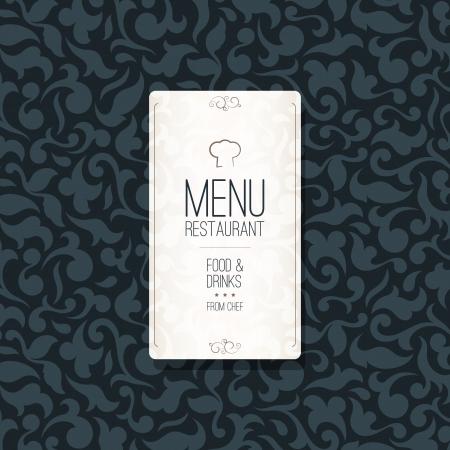Restaurant menu design Stock Vector - 16424704