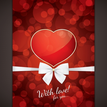 Valentines day card Stock Vector - 16424726
