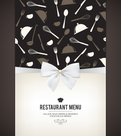 Restaurant menu design Stock Vector - 16666131