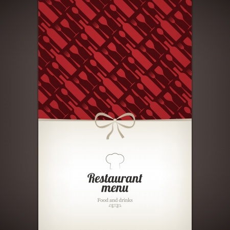 Restaurant menu design Stock Vector - 16666129