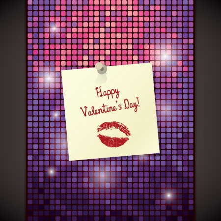 Valentines day card Stock Vector - 17989304
