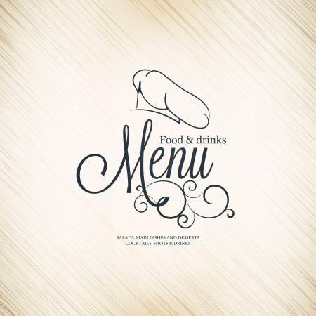 Restaurant menu design Stock Vector - 17989339