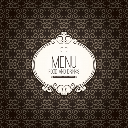 Restaurant menu design Stock Vector - 17989311