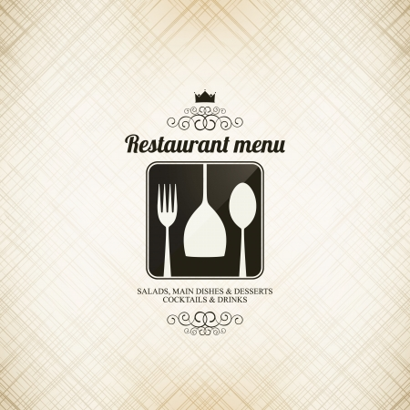 Restaurant menu design Stock Vector - 17989330