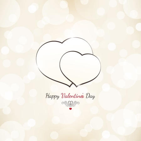 Valentines day card Stock Vector - 17989290