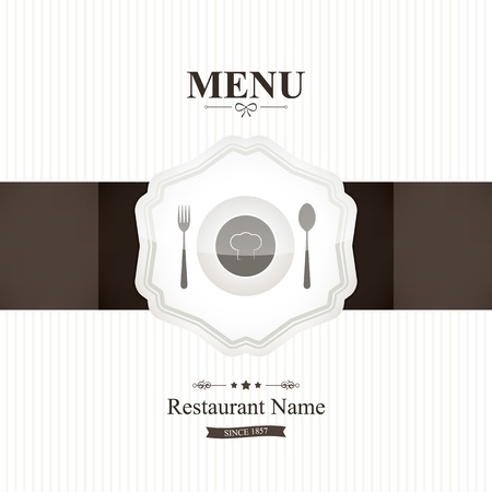 Restaurant menu design Stock Vector - 17989284