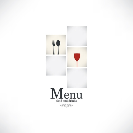 Restaurant menu design Stock Vector - 17989291