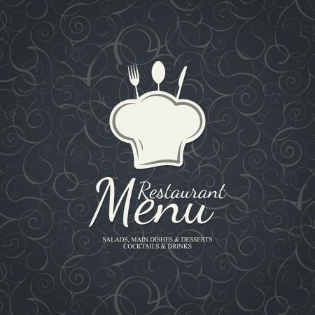 chapeau chef: Conception des menus des restaurants