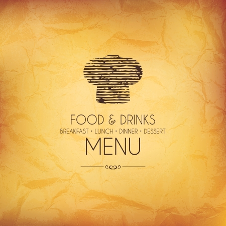 Restaurant menu design Stock Vector - 17989318