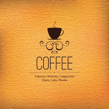 coffe: Menu for restaurant, cafe, bar, coffeehouse