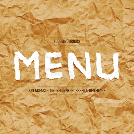 Restaurant menu design Stock Vector - 17989322
