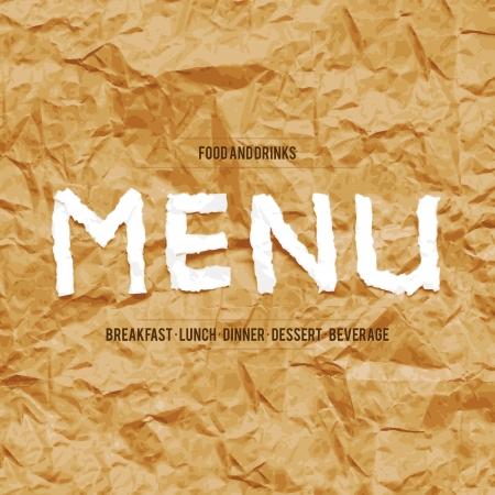 Restaurant menu design Stock Vector - 17989322