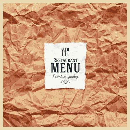 Restaurant Menü-Design