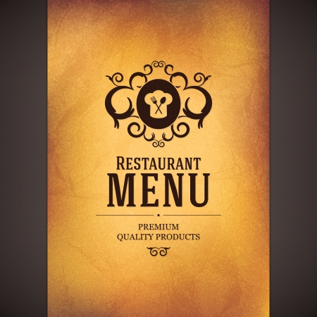 Restaurant menu design Stock Vector - 18522046
