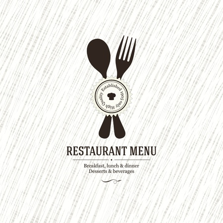 Restaurant menu design Stock Vector - 19084454