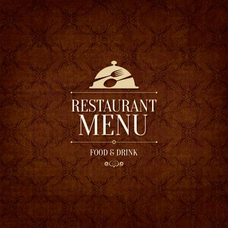 menu de postres: Dise?el men?l restaurante