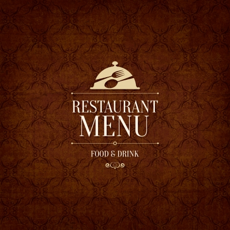 menu cover: Restaurant menu design