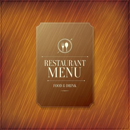 carta de postres: Dise?o del men? del restaurante