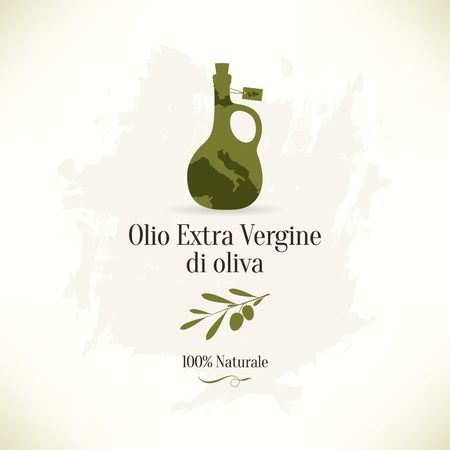 ewer: Olive label