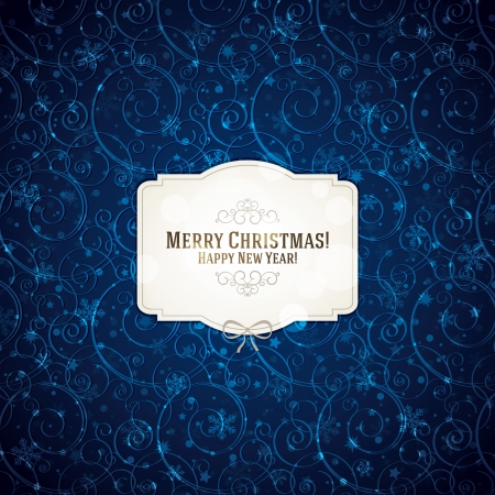 greeting: Christmas and New Year greeting card