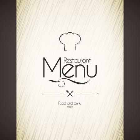Conception des menus des restaurants Banque d'images - 21953423