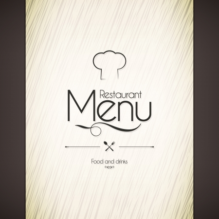Restaurant menu design Stock Vector - 21953423