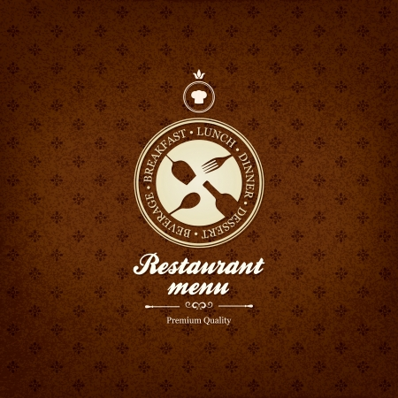 Restaurant menu design Stock Vector - 22097580