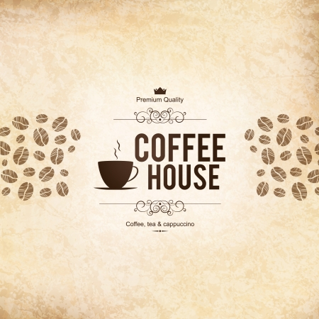 coffeehouse: Menu for restaurant, cafe, bar, coffeehouse