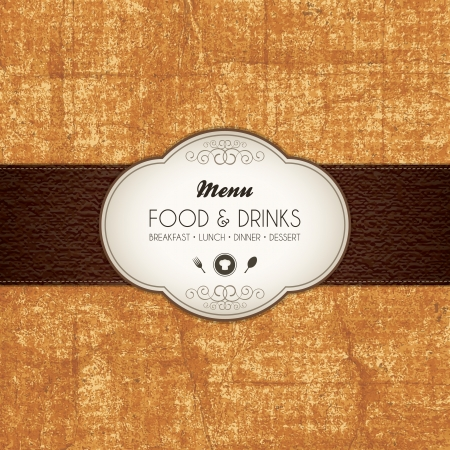 Restaurant menu design Stock Vector - 22426156