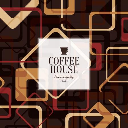 Menü für Restaurant, Café, Bar, Kaffeehaus Illustration