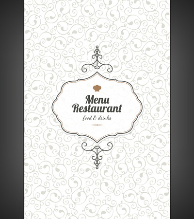 Restaurant menu design Stock Vector - 24505226