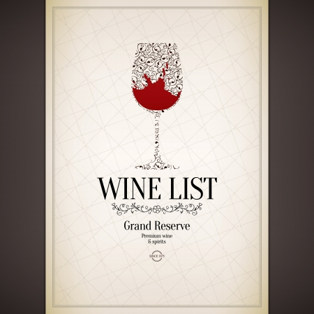 fruit drink: Carta dei vini di progettazione