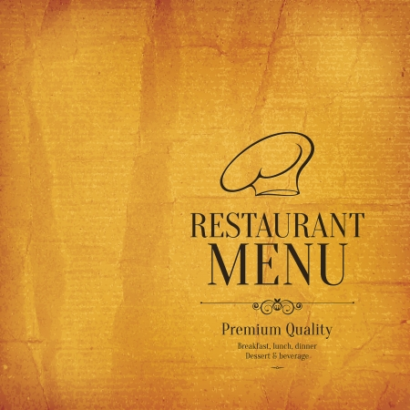 creative design: Restaurant menu design