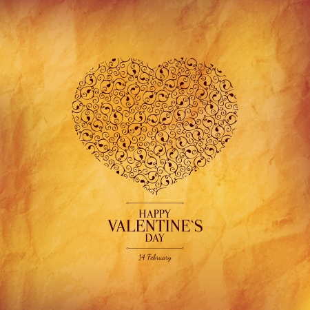 Valentines day card Stock Vector - 24928104