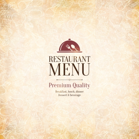 Restaurant menu design Stock Vector - 25279726